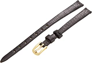 Hadley-Roma Women's LSL700LA 100 Genuine Java Lizard Strap Watchband