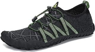 SAGUARO Mens Minimalist Barefoot Water Shoes Beach Walking Gym Trail Aqua Sports