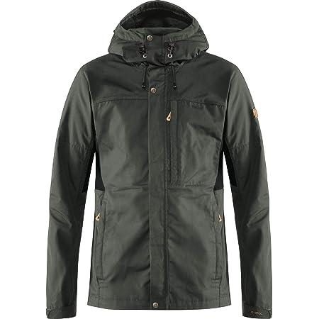 Fjallraven Men's Kaipak Jacket M, Dark Grey-Black, M