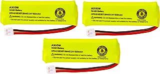 Axiom Rechargeable Battery For V-Tech BT-18443 / BT-28443 / CPH-518D (3-Pack)