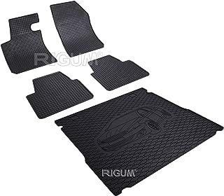 903386-44B-826036 Kit tapis de voiture et protection de coffre en caoutchouc Noir