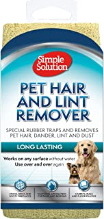 Simple Solution Pet Hair and Lint Remover, Light Brown