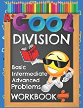 Cool Division Basic Intermediate Advanced Problems Workbook: Emoji Various Short & Long Division Facts Math Practice Worksheets Booklet