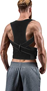 Back Brace Posture Corrector for Women Men – Back Lumbar Adjustable Support..