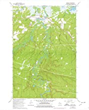 YellowMaps Odanah WI topo map, 1:24000 Scale, 7.5 X 7.5 Minute, Historical, 1964, Updated 1976, 27.28 x 22.49 in
