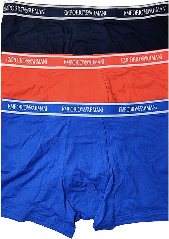 Emporio Armani Men's Core Logoband 3-Pack Boxer Brief