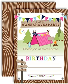 Best free camping invitations Reviews