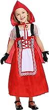 Mesodyn Little Girls Red Hood Dress Costume
