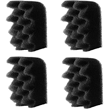 4-Pack Fluval-Compatible Replacement Foam Filters - Works with 304 / 305/ 306 / 404 / 405 / 406 Aquarium Canister Filter Models - Equivalent to Bio-Foam A237 - Made in the USA By Impresa Products