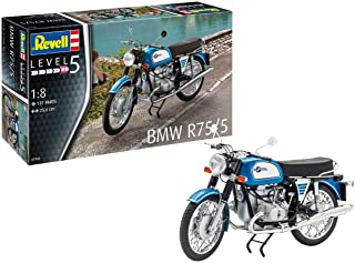 Revell 07938 14 Maqueta de BMW R75/5 Niveles En Escala 1: 8, 5