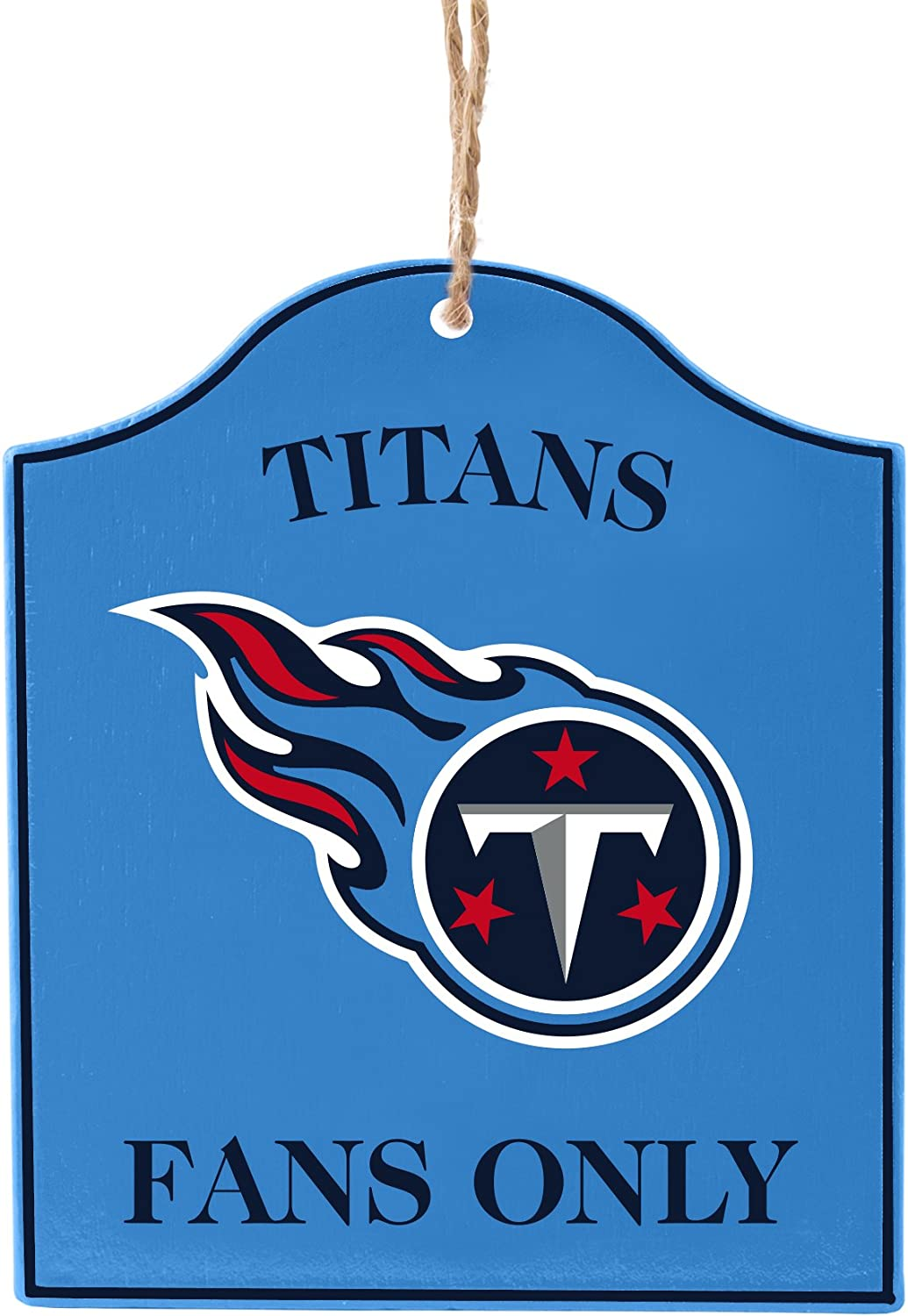 Financial sales sale Boelter Brands NFL Tennessee Titans National products Sign Wooden Fan Ornament