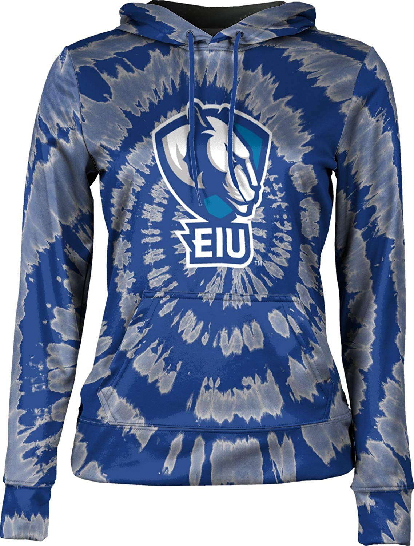 ProSphere Eastern Illinois University Girls' Pullover Hoodie, School Spirit Sweatshirt (Tie Dye)