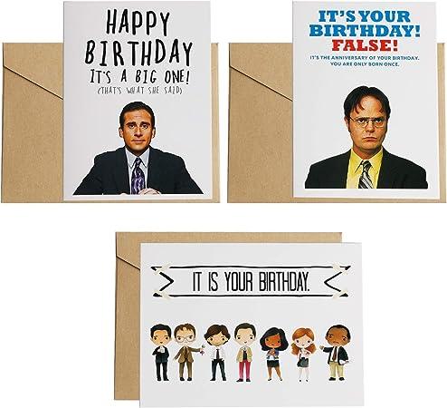 3PCS The Office card ,Dwight Schrute False