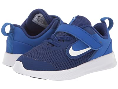 Nike Kids Downshifter 9 (Infant/Toddler) (Deep Royal Blue/White/Gym Royal/Black) Boys Shoes