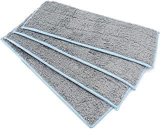 DingGreat Tampons de Nettoyage humides lavables, Chiffon de Nettoyage en Microfibre pour Robot Braava Jet M6