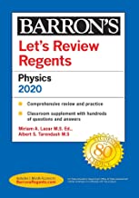Let's Review Regents: Physics--Physical Setting 2020 (Barron's Regents NY)