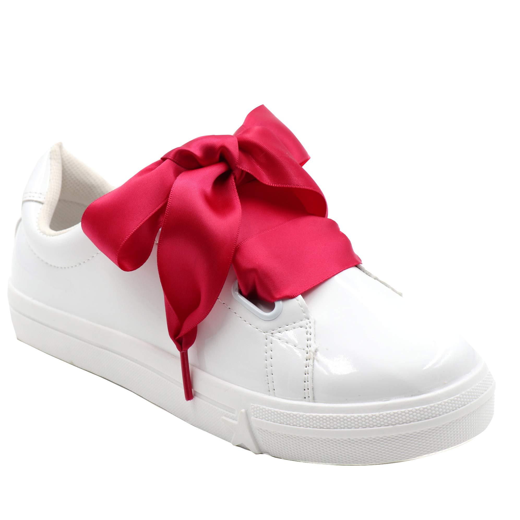 COOL LACE Satin Ribbon Shoelaces Flat