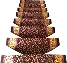 HAIPENG Self Adhesive Non Slip Stair Carpet Treads Pads Runner Rugs Thicken Nordic Style, 5 Sizes, 4 Colors (Color : A-100...