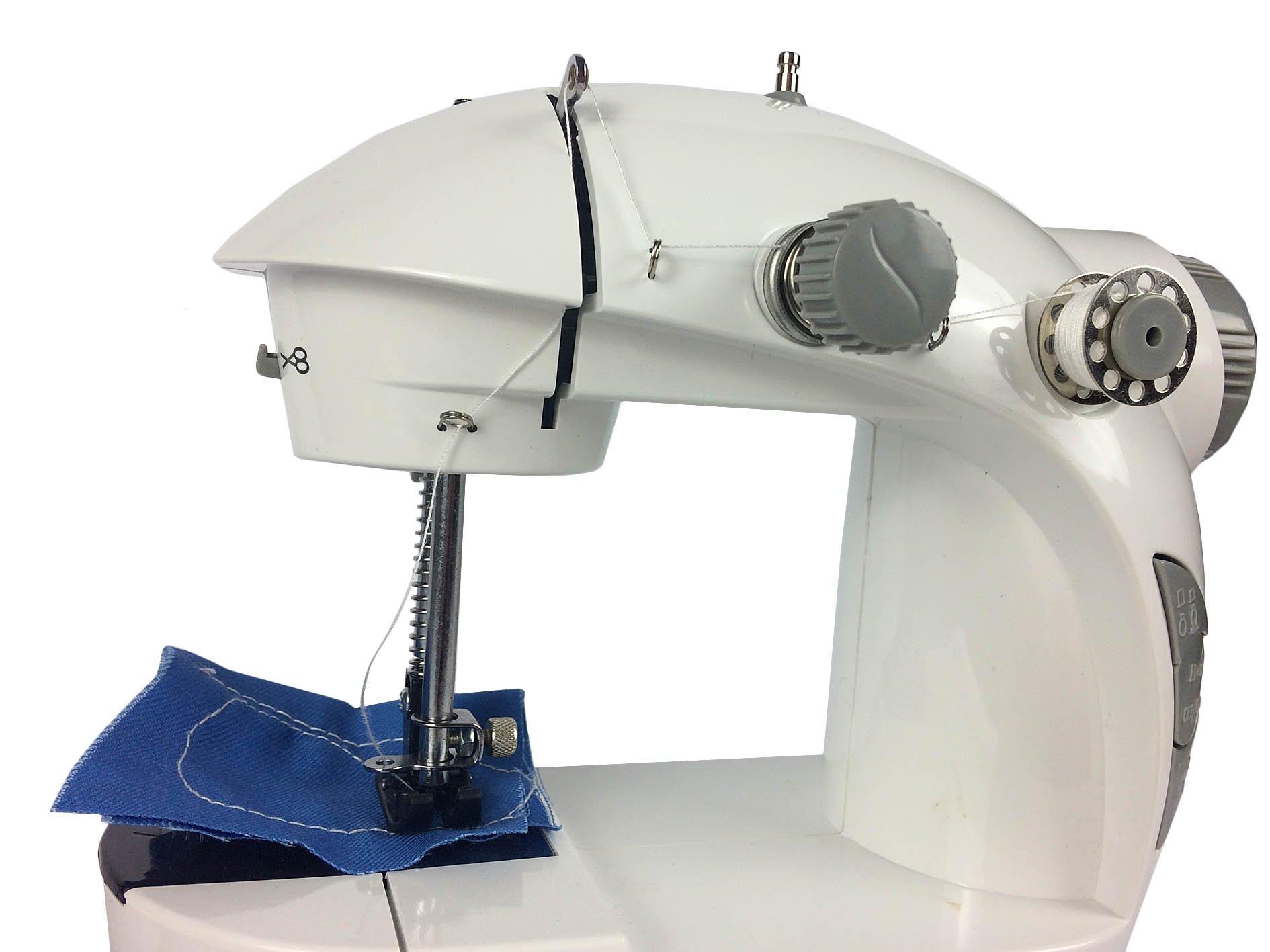 Hyfive® Mini Máquina de coser eléctrica portátil de velocidad ...