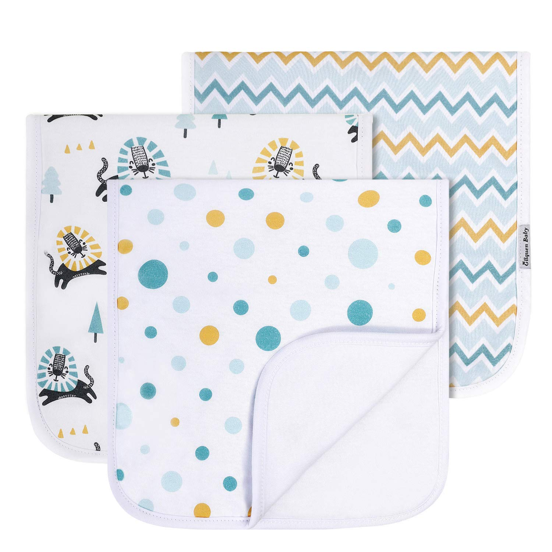 Floral Baby Burp Cloth Towel Burp Rag