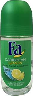 Fa deodorant Roll On 50ml Caribbean Lemon
