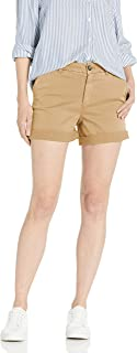 Amazon Brand - Goodthreads Women's High-Rise Chino Girlfriend Short