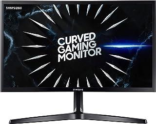 Samsung C24RG52 - Monitor Curvo Gaming de 24'' (Full HD, 4ms, 144 Hz, FreeSync, Flicker-Free, LED, VA, 16:9, 3000:1, 1800R, 250 cd/m², 178°, HDMI, Base en V) Negro