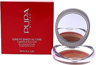 Pupa Milano Luminys Baked All Over Illuminating Blush Powder - Finishing Makeup Powder, For a Smooth, Illuminating, Mattif...