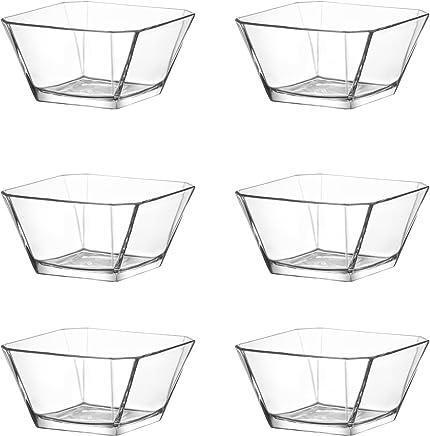 Preisvergleich für technic24 LAV 6tlg Glasschalen Schalen Glasschale Dessertschale Vorspeise Glas Gläser 300ml