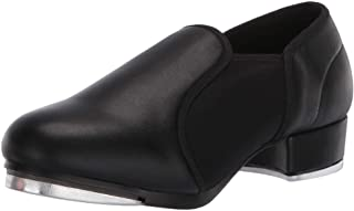 Danzcue Adult Stretchy Neoprene Tap Shoes, Black