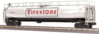 MTH MTH3073428 O-27 33,000-Gallon Tank, Firestone