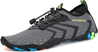MOERDENG Men Women Water Shoes Quick Dry Barefoot Aqua...