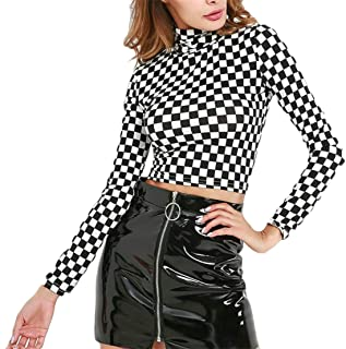 Best checkered long sleeve shirt womens Reviews