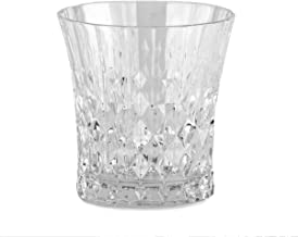 Luminarc Arc International Lady Diamond Diamax Old Fashioned Glass (Set of 6), 9 oz, Clear