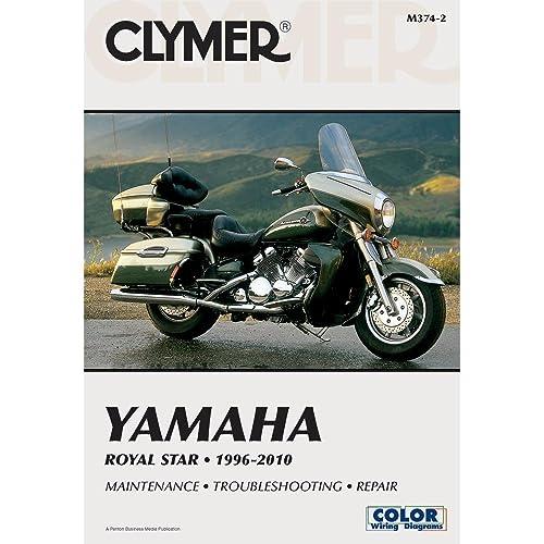 clymer m374 service shop repair manual for yamaha royal star 96-10