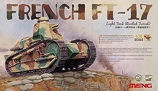 Meng French FT-17 Light Tank (Riveted Turret) Plastic Model Kit (1/35 Scale)