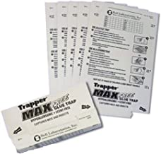 Trapper Max Free Mouse Glue Traps-mice Glue Traps for Catching Mice-(box of 72)