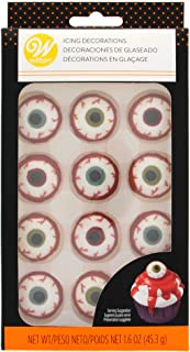Wilton W7107143 Icing Decorations 12/Pkg Bloody Eyeball