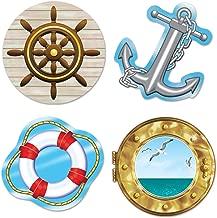 Beistle 54217 Nautical Cutouts, 133/4-Inch