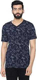 Bongio Men's Half – Sleeve Casual Printed T-Shirt for Summer
