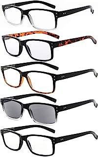 عینک های بهاری 5-بسته ای Eyekepper وینچین مردانه عینک پرنعمت