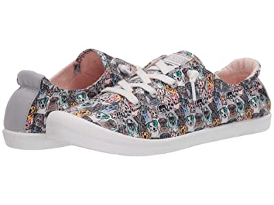 BOBS from SKECHERS Beach Bingo Pastel Paws (Gray/Multi) Women