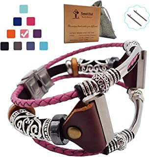 Smatiful Blaze Bands with Box Pack for Women, Adjustable Replacement Watch Band Compatiable with for Fitbit Blaze, Muticolor
