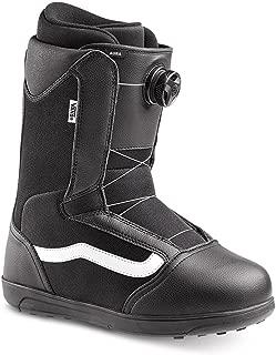 Vans Aura Men's Snowboard Boots, Black/White, 2019