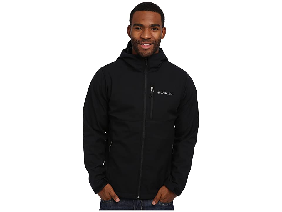 Columbia Ascendertm Hooded Softshell Jacket (Black) Men