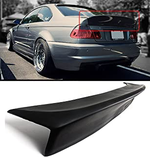 Cuztom Tuning Fits for 2001-2006 BMW E46 2DR Coupe M3 CSL Style Duckbill Highkick Trunk Spoiler Wing