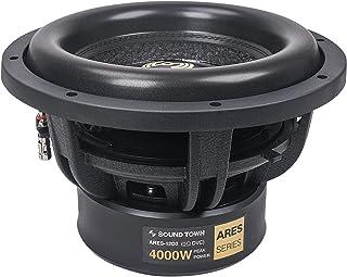 "$169 » Sound Town 12"" Dual Voice Coil 1000W Car Audio Subwoofer, Dual 2-Ohm, CEA Rated (ARES-12D2)"