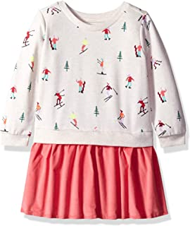 Gymboree Girls' Big Long Sleeve Casual Knit Dress,