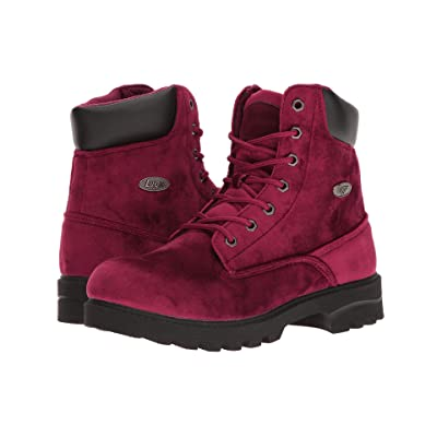 Lugz Empire Hi VT (Ruby/Black) Women