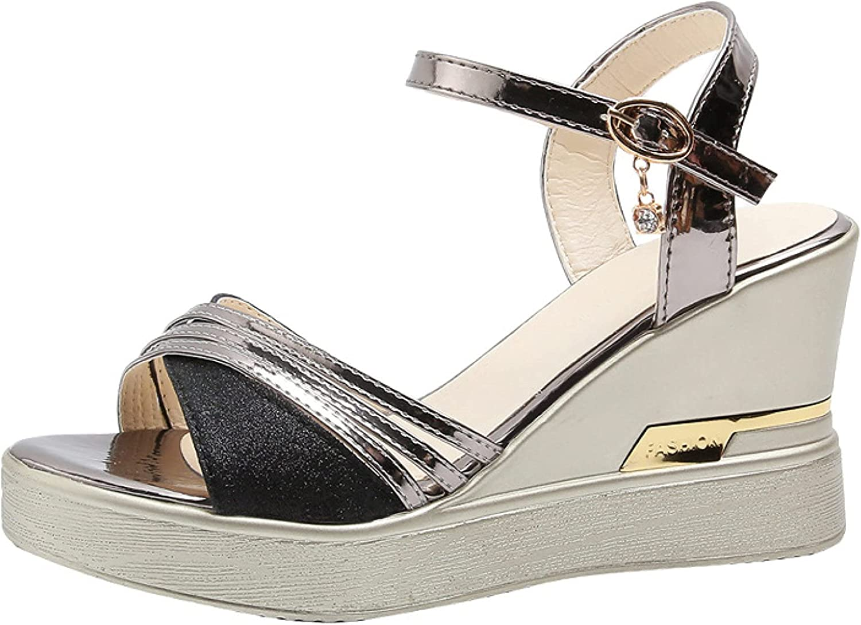 Womens Platform Heeled Sandals Choice Wedge Toe Cheap mail order shopping Heels Elegant Peep High